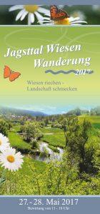 Jagsttal Wiesen Wanderung 2017 Flyer